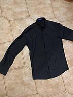 ЖІНОЧА РУБАШКА рубашка чёрная для женщин. офисная одежда s