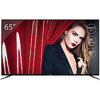 """4K телевизор, LED, Смарт ТВ, с Wi-Fi 3840 x 2160 телевизор Vinga (винга) 65"""" винга S65UHD20B"""
