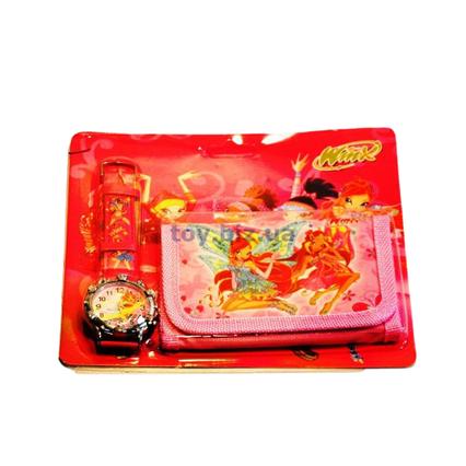 Дитячі годинники з гаманцем Winx A-2430