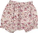 Летний костюм на девочку рост 62 2-3 мес для новорожденных комплект футболка и шорты детский лето розовый, фото 4