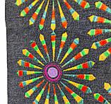 Джинсовая сумка с вышивкой Салют, фото 3