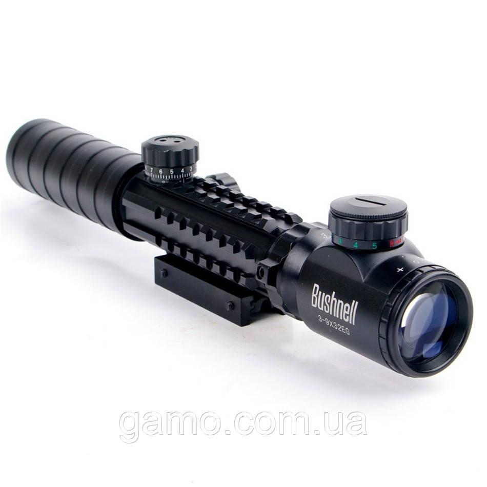 Оптический Прицел BUSHNELL 3-9x32 EG с подсветкой шкалы