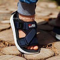 Босоножки сандали для мальчика Синие Angel by Violeta Wonex Размер 37