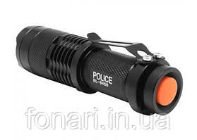 Фонарь Police BL-8468 XP-E, 1xAA (линзовый) Комплект