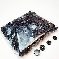 Кнопки для одягу Альфа 10.5 мм. Оксид (VT-2).Кнопки для гаманців