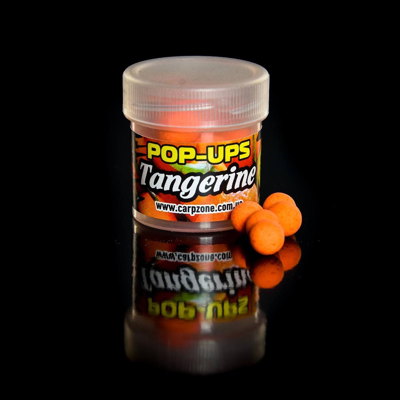 Поп Ап CarpZone Pop-Ups Method & Feeder Tangerine (Мандарин) 8mm/30pc