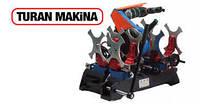 Аппарат для стыковой сварки полиэтиленовых труб Turan Makina AL 160. Сварочный аппарат для пайки труб.