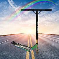 Трюковый самокат V-tech-Pro Rainbow 2021