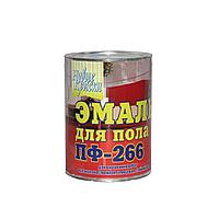 Эмаль для пола Новые Краски ПФ-266 красно-коричневый 0.9кг