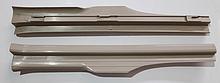 Накладка порога внутренняя задняя R (бежевая) Chery Amulet