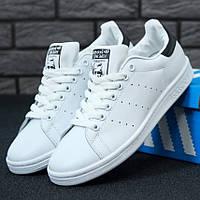 Мужские кроссовки в стиле Adidas Stan Smith, белый, черный, Вьетнам