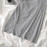 Базовое короткое  платье, фото 3