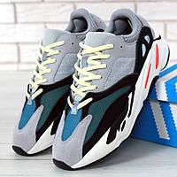 Женские кроссовки в стиле Adidas Yeezy Boost 700, серый, зеленый, белый, черный, Китай