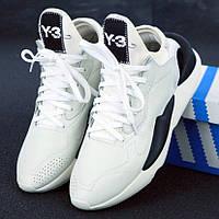 Мужские кроссовки в стиле Adidas Y-3 Kaiwa, черно-белый, Китай