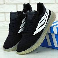 Мужские кроссовки в стиле Adidas Sobakov, черно-белый, Китай