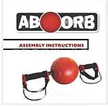 Фітнес тренажер AB Wheel ABOORB гімнастичне колесо для занять спортом, фото 2