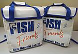 Терморюкзак для доставки еды из баннерной ткани ПВХ с накладным карманом. 35*20, высота 40, фото 6