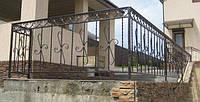 Художня ковка паркани ворота
