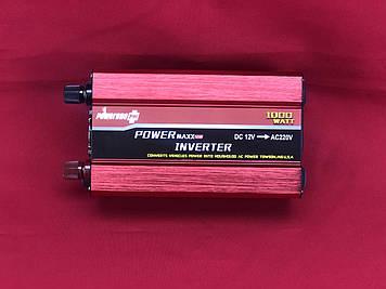 Преобразователь PowerOne Plus 24V-220V 1000W + USB (SSB-1000)