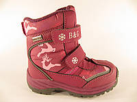 Сапоги для девочки B&G Termo