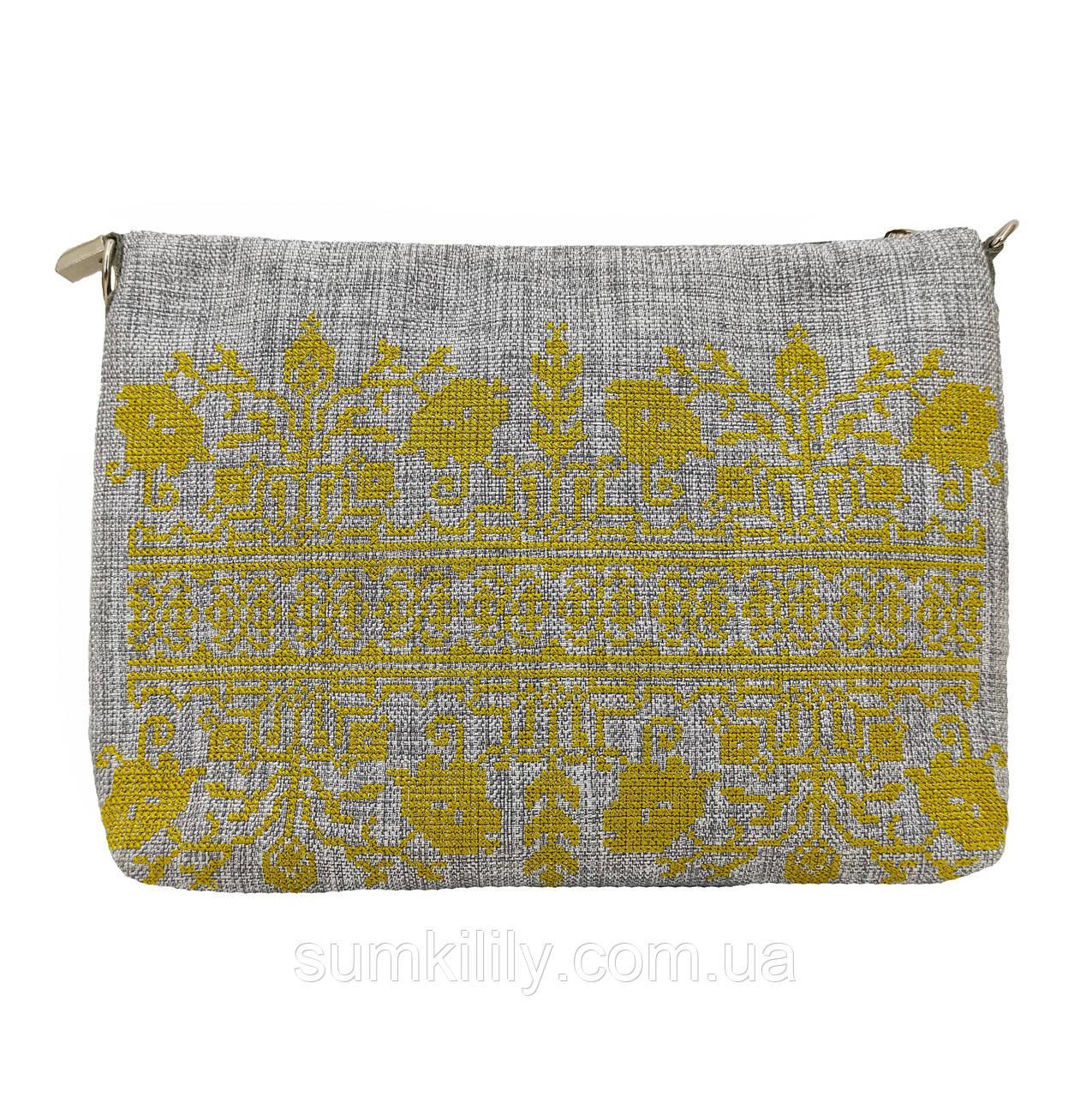 Летняя сумка с вышивкой  Сокаль 65