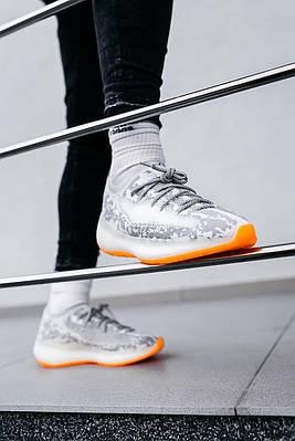 Кроссовки мужские Adidas Yeezy Boost 380 Triple Black Grey EB380-AG Адидас Изи Буст 380 в 2 Серый Размер 46