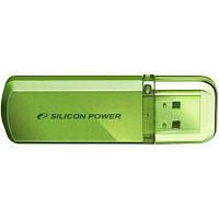 USB флеш накопитель Silicon Power 16Gb Helios 101 green (SP016GBUF2101V1N)