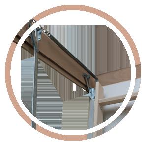чердачные лестницы | гарантия чердачных лестниц | деревянная лестница на чердак