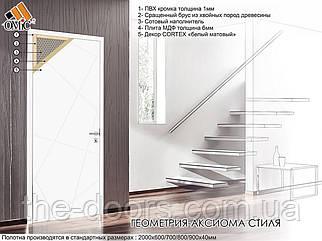 Двері міжкімнатні Оміс Геометрія 01 глухі