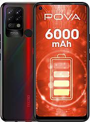 Смартфон TECNO Pova (LD7) 6/128Gb Dazzle Black (UA UCRF)