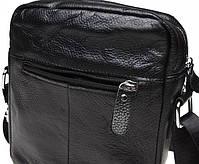 Сумка-чоловіча шкіряна барсетка через плече Tiding Bag 1022A, фото 3