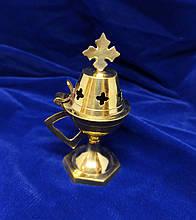 Кадильница с крестом из металла (Греция)