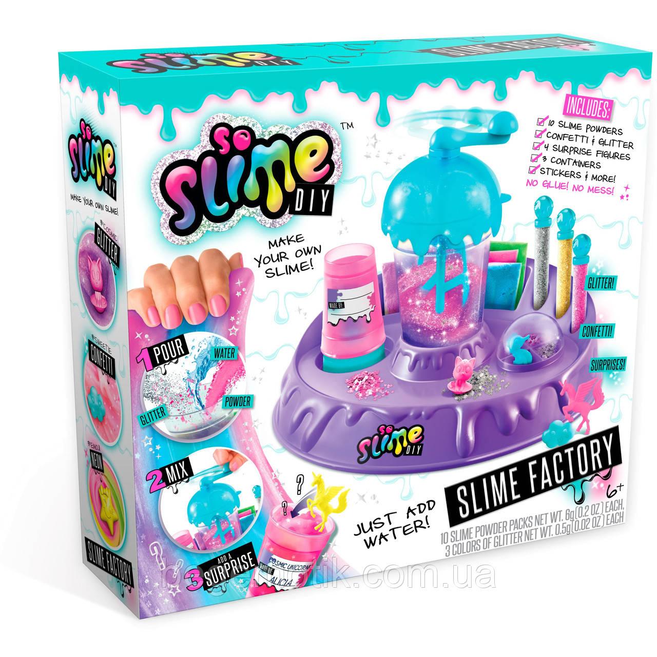 Игровой набор Фабрика слаймов лизунов So Slime DIY Slime Factory (5526591)