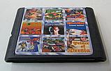Картридж Sega 9в1 Boogerman adventure Micromachines 2 turbo Earthworm jim 2, фото 2