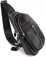 Мужской кожаный рюкзак на одно плече TIDING BAG A25F-1362-1A, фото 2
