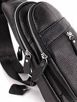 Мужской кожаный рюкзак на одно плече TIDING BAG A25F-1362-1A, фото 9