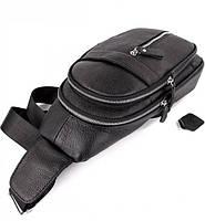 Мужской кожаный рюкзак на одно плече TIDING BAG A25F-1362-1A, фото 4