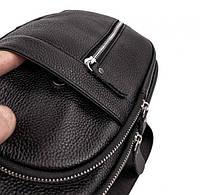 Мужской кожаный рюкзак на одно плече TIDING BAG A25F-1362-1A, фото 5