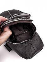 Мужской кожаный рюкзак на одно плече TIDING BAG A25F-1362-1A, фото 7