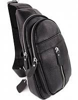 Мужской кожаный рюкзак на одно плече TIDING BAG A25F-1362-1A, фото 10
