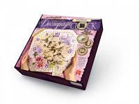 """Набор для творчества """"Decoupage Clock"""", DKС-01-06,07,08,09,10 Danko Toys"""