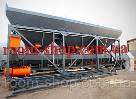 Бетонні комплекси, заводи, БСУ, бункера для інертних, ДКС-60, об'єм 60 м3, фото 3