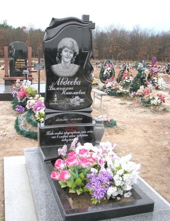 Памятник гранитный одинарный 1-51
