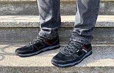 Кросівки чоловічі літні чорна сіточка, фото 2