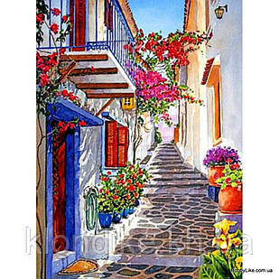 """Картина по номерам """"Старая улица"""" 30×40 см Акриловые Краски"""