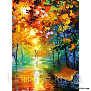 """Картина по номерам """"Прогулка в парке"""" 30×40 см Акриловые Краски"""