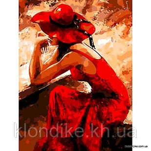 """Картина по номерам """"Мысли"""" 40×50 см Акриловые Краски"""
