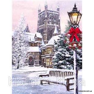 """Картина по номерам """"Зима"""" 40×50 см Акриловые Краски, Картонная упаковка"""
