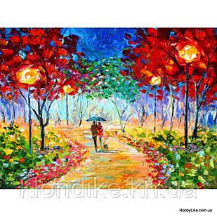 """Картина по номерам """"Прогулка"""" 40×50 см Акриловые Краски, Картонная упаковка"""