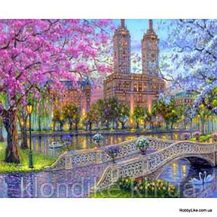"""Картина по номерам """"Парк"""" 40×50 см Акриловые Краски, Картонная упаковка"""